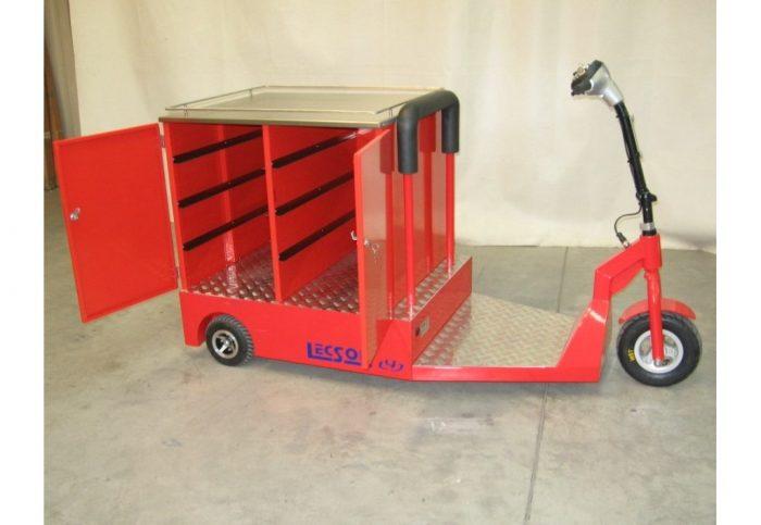Verkaufsfahrzeug Elektroantrieb elektrisch Snack Wagen