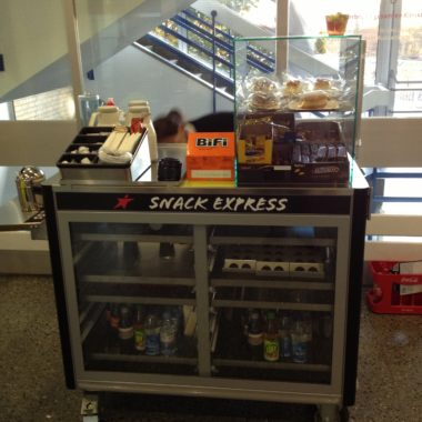 Verkaufswagen für Snacks