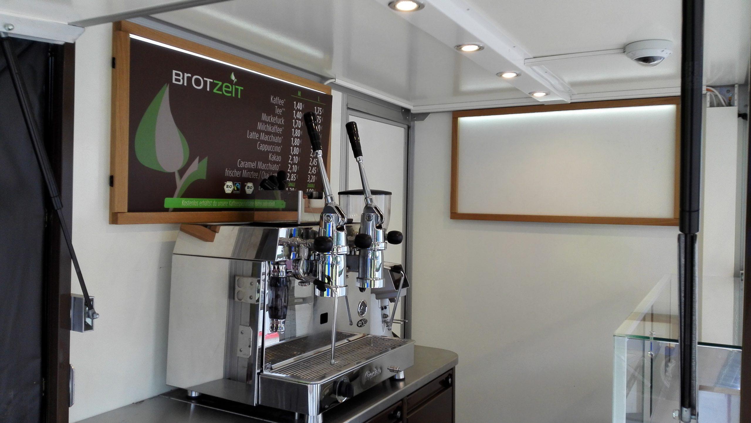 Kaffe Mobil Kaffee Verkaufsfahrzeug