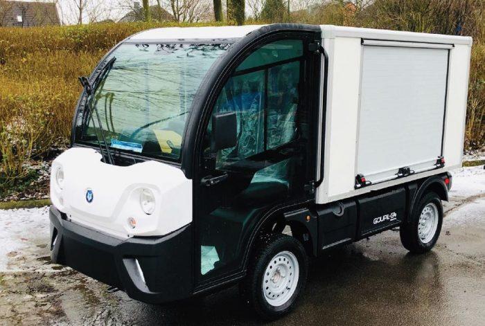 Gastro Mobil Verkaufsfahrzeug Imbisswagen Elektroantrieb