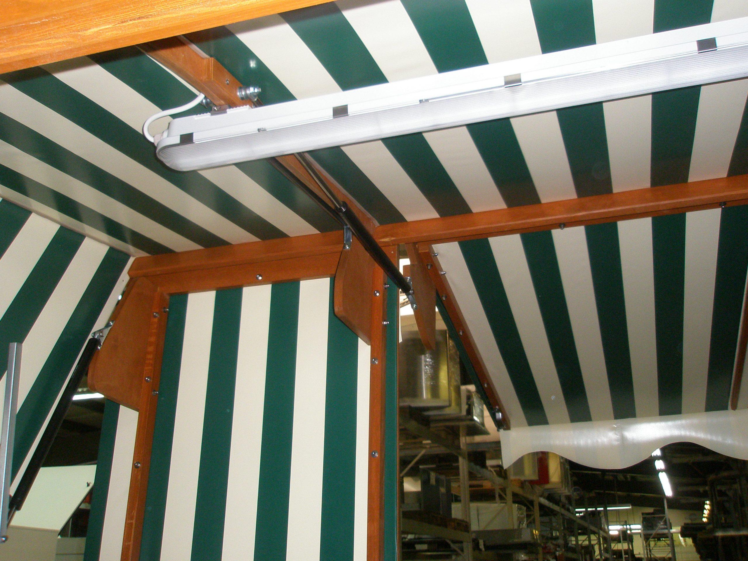 Verkaufskiosk Strandkorb Outdoor Verkaufsstand Imbiss Container mobil
