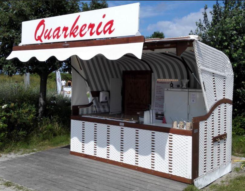 Verkaufskiosk Strandkorb Outdoor Verkaufsstand Imbiss Container