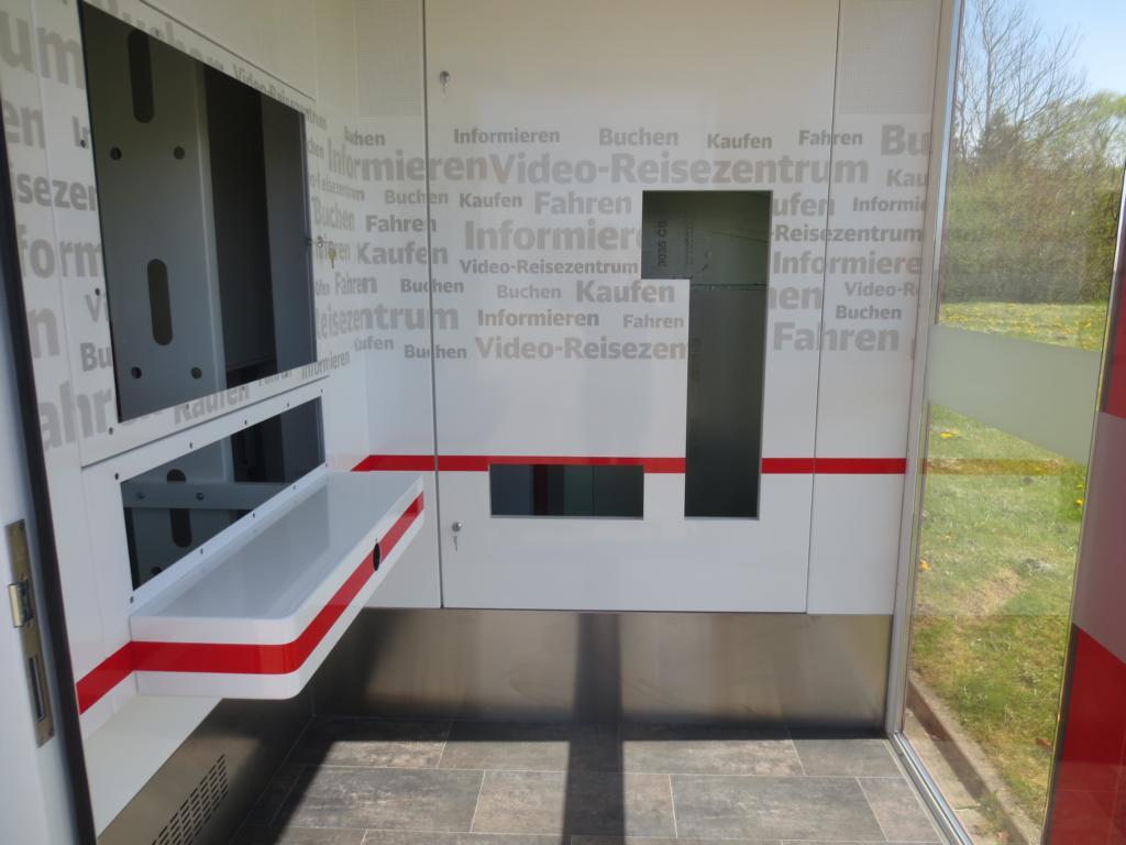 Reisezentrum Container Infoterminal Information Pavillon Tickets