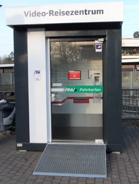 Reisezentrum Container Infoterminal Information Pavillon