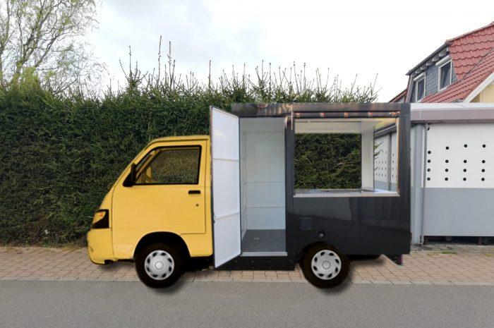 Gastro Mobil Verkaufsfahrzeug Imbisswagen