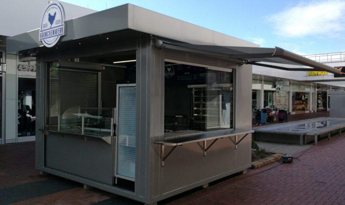 Verkaufskiosk Container Foodcontainer Imbissstand Imbiss Grillstand