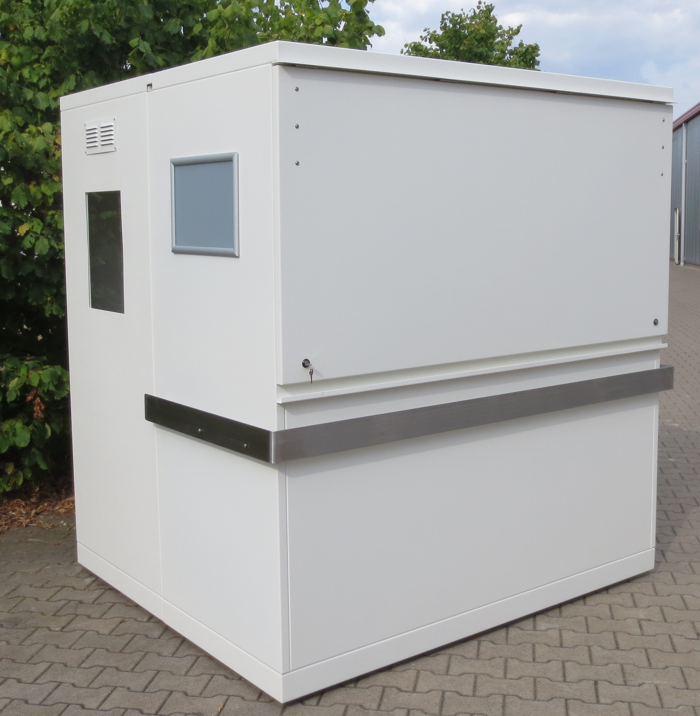 Mobiler Verkaufscontainer Grillcontainer Imbisscontainer Foodstand