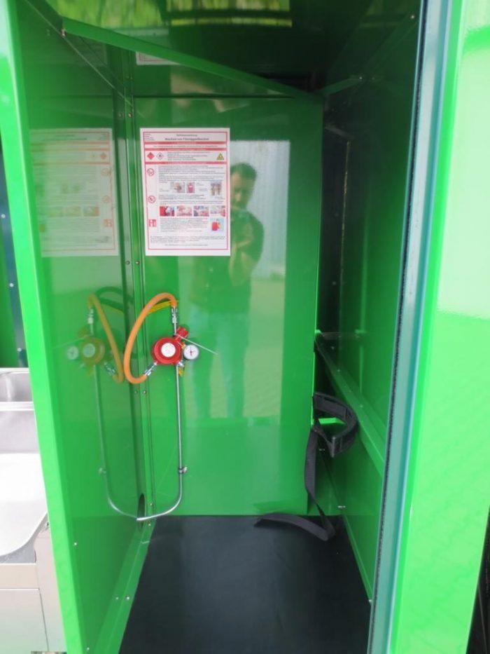 Elektro Verkaufsmobil Grüner Verkaufswagen Offroad-Verkaufswagen, Strand-Verkaufswagen mit Gas