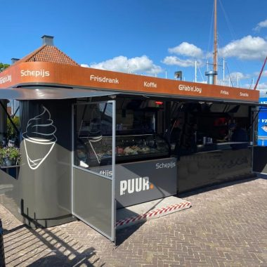 Container Kiosk Pavillon Verkaufscontainer Imbisscontainer Imbissstand Imbiss
