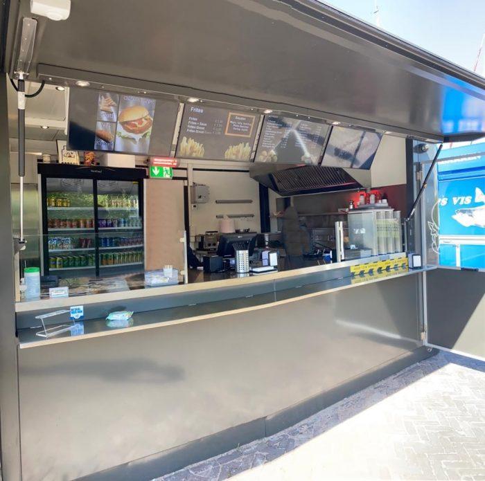 Container Kiosk Pavillon Verkaufscontainer Imbisscontainer Imbissstand Imbiss