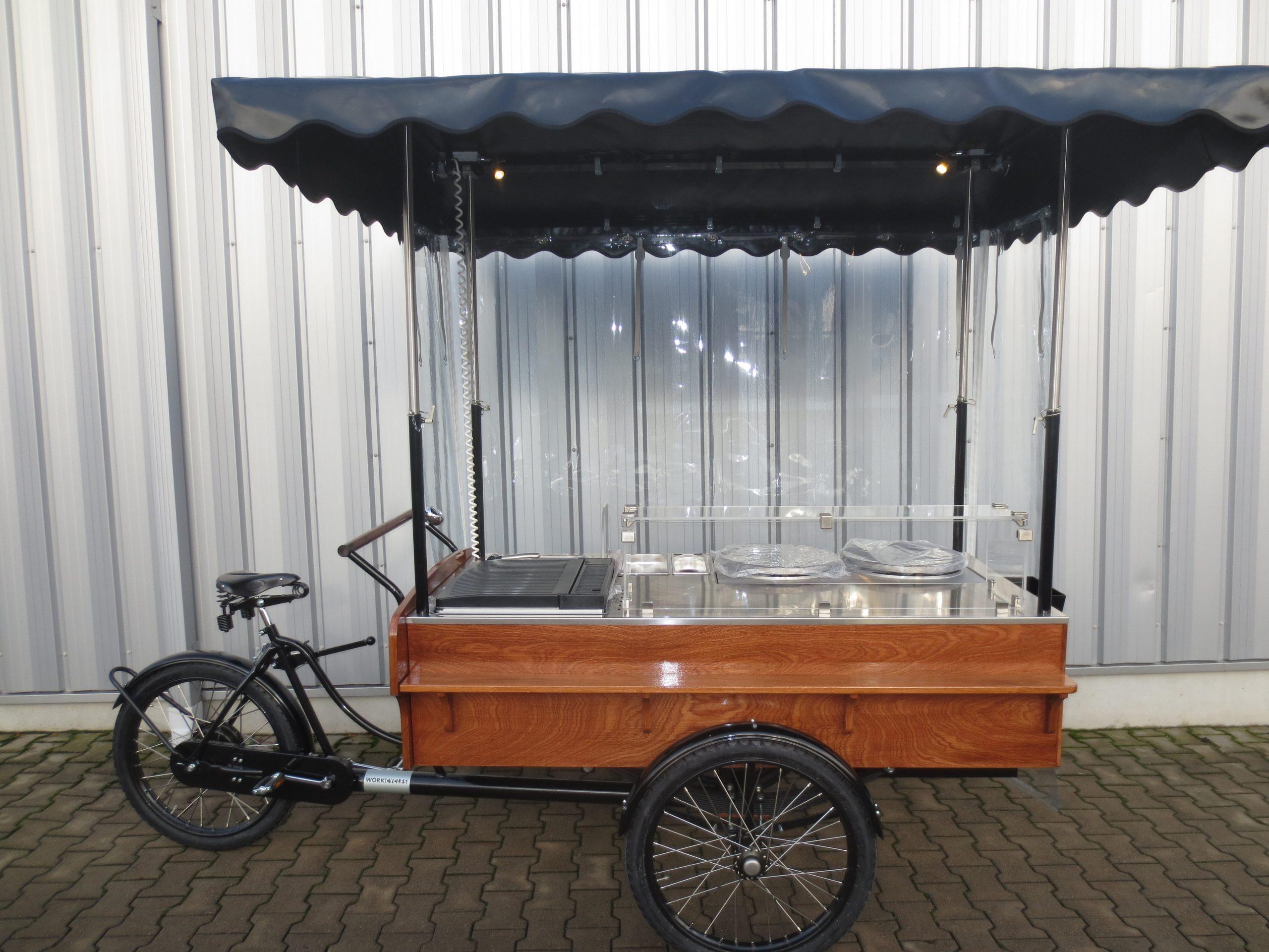 grillfahrrad, Verkaufsfahrrad, crepesfahrrad, grillbike, foodbike, food-bike.
