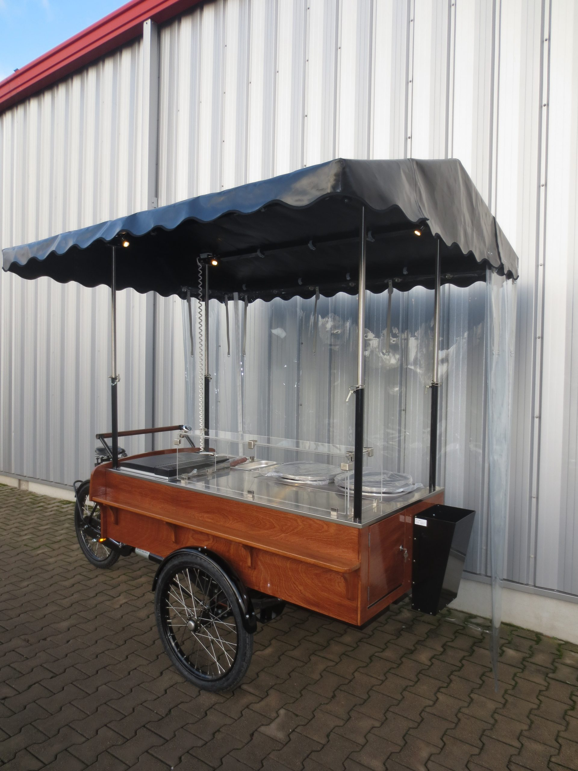 Eiswagen Eisstand Eis Verkaufswagen Verkaufsstand Eismobil