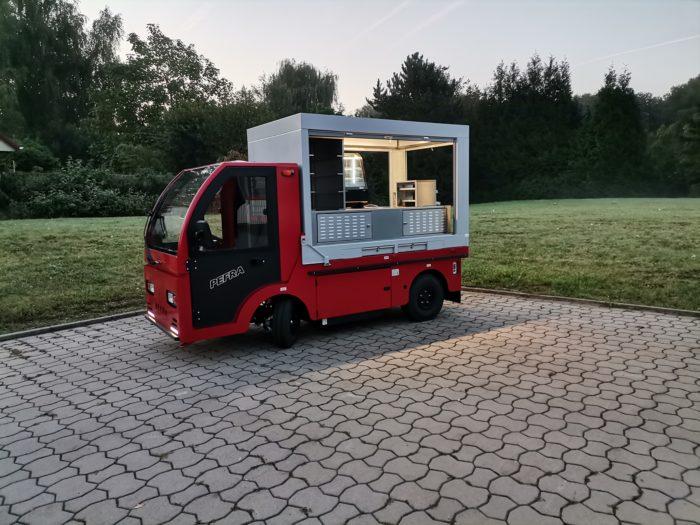 Elektro Verkaufsfahrzeug