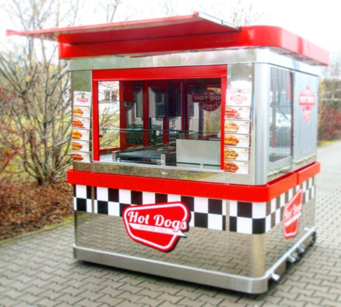 Hot dog Verkaufskiosk